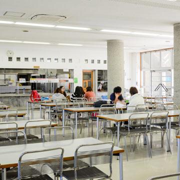 学生ユニオン(学食 座席数230)