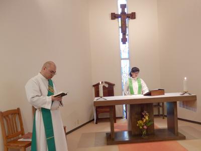 日本聖公会 小禄聖マタイ教会の礼拝に参加(2018年度)
